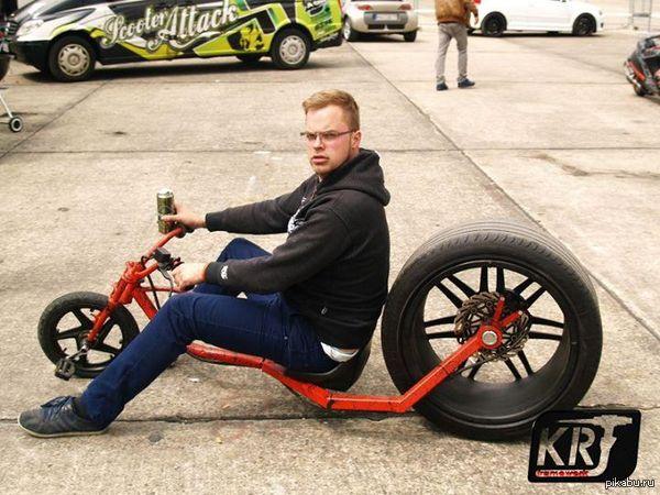 Радикально другой велосипед Найдено на просторах интернета