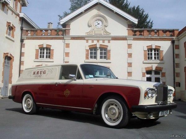 Развозной фургончик от Rolls-Royce