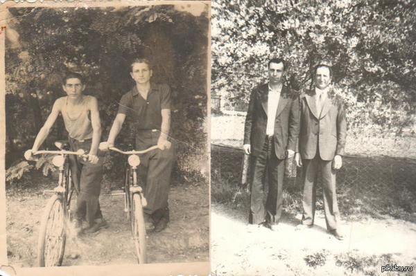 Просто дружба длинной в 50 лет. Кстати - носили хипстерские прически, до того как это стало мейнстримом.
