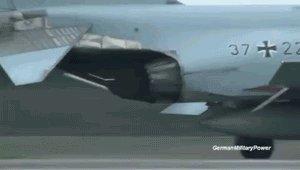 Диски Маха в реактивном двигателе