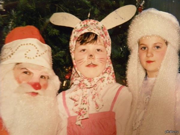 Кто кем был в детстве? Я к примеру зайцем!))