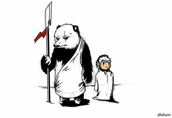 Син Ву и Тим. Два путешественника. Мое маленькое рисование