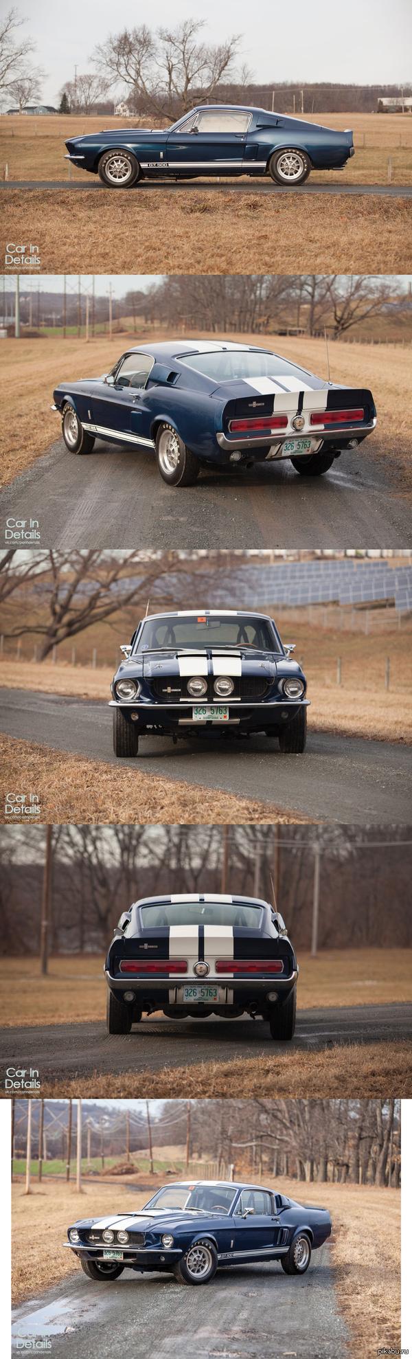 Shelby GT500 '1967 Фото взяты с вк.