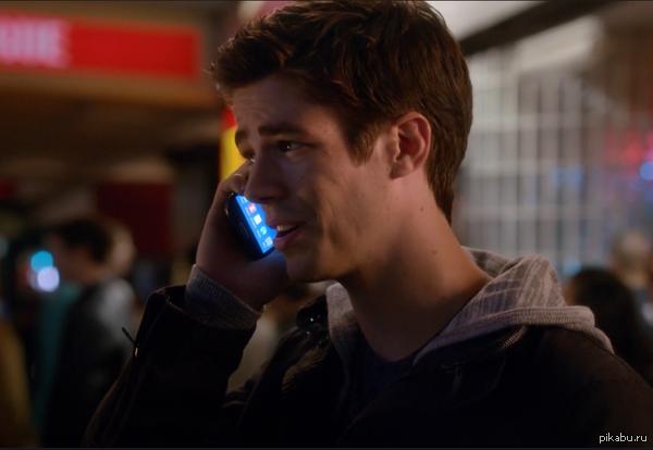 только пользователи андроида поймут в чём подвох Флэш,супергерой который разговаривает открыв только главный экран смартфона