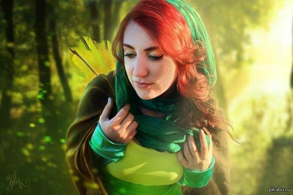 Windrunner cosplay Обработка фото: Hellen bk