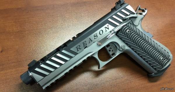 Компания Solid Concepts представила новую версию оружия. Она называется Reason («Аргумент») ссылка и описание внутри