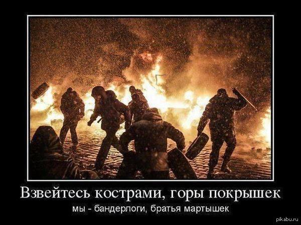 Из искры разгорелось пламя и оставило Укропию в пепелище