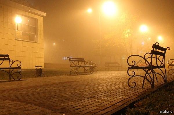 Silent Hill московской области Город Павловский Посад, 6 утра