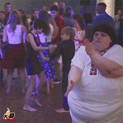 Когда во время танца меня просят показать где бар