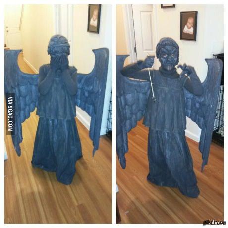 """Просто ангел Вот такой """"милый"""" костюм ангела"""