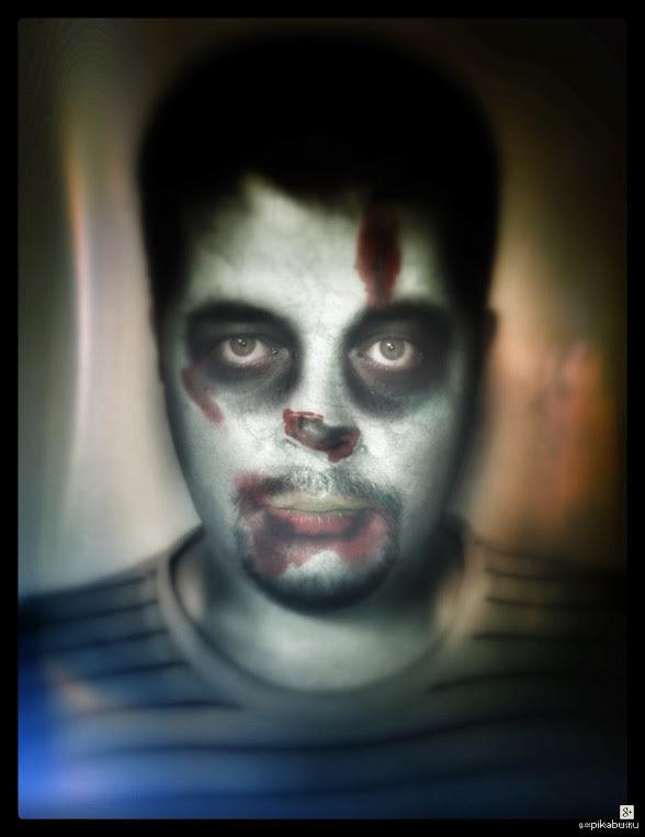 Аватар на хеллоуин Если у вас есть почта на google,а также по-умолчанию аккаунт google+,в разделе фото можно применить автокреатив на хеллоуин для своих фото.Может кому пригодится