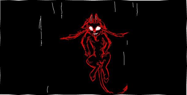 Чуть-чуть с запозданием, Halloween(ский) гиф-рисунок.