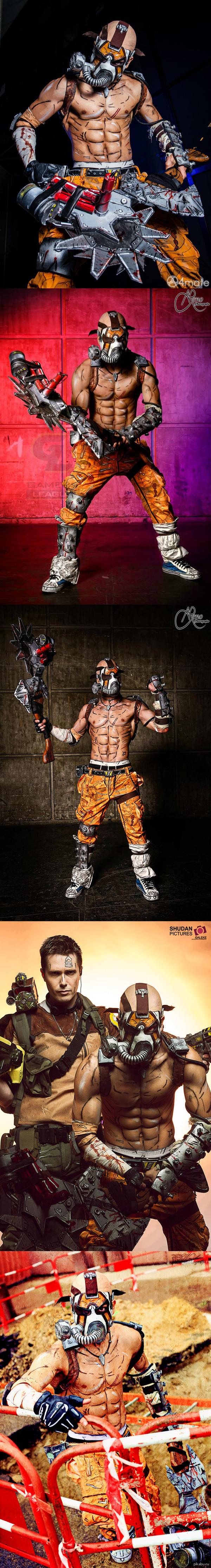 Psycho  Cosplay ( Borderlands 2) Пожалуй, лучший косплей на данного персонажа.     Косплеер: LeonChiro