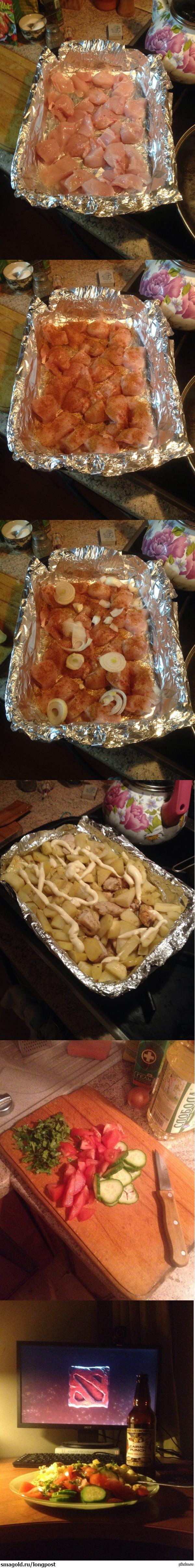 Вечер сильного и независимого студента готовка чистая импровизация из того что есть