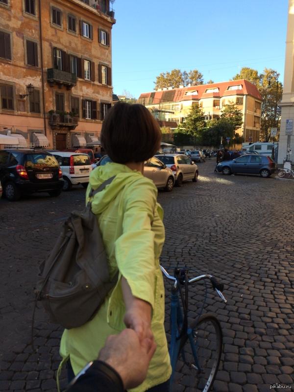 #FollowMe Советую брать веласы при поездке в Рим =)