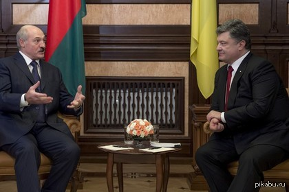 """Порошенко предложил Белоруссии помощь в развитии отношений с ЕС """"Украина может способствовать развитию отношений Белоруссии с ЕС в рамках Восточного партнерства.""""    В одиночку тонуть не охота. Давай всех за собой тянуть."""