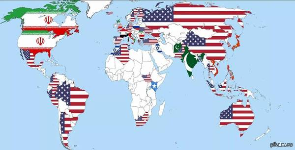 """""""Какая страна наиболее угрожает миру?"""" так ответили жители некоторых стран"""