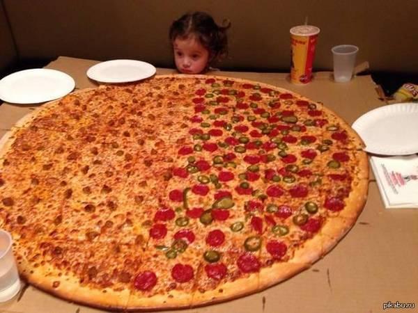 Ну Я очень люблю пиццу