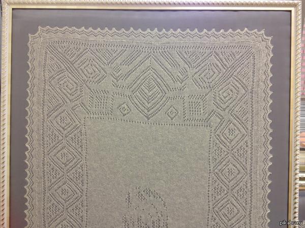 Немного об Оренбурге Оренбургский пуховый платок, наряду с тульским самоваром, матрешкой, хохломской росписью,  дымковской игрушкой,  уральским малахитом — один из символов России.