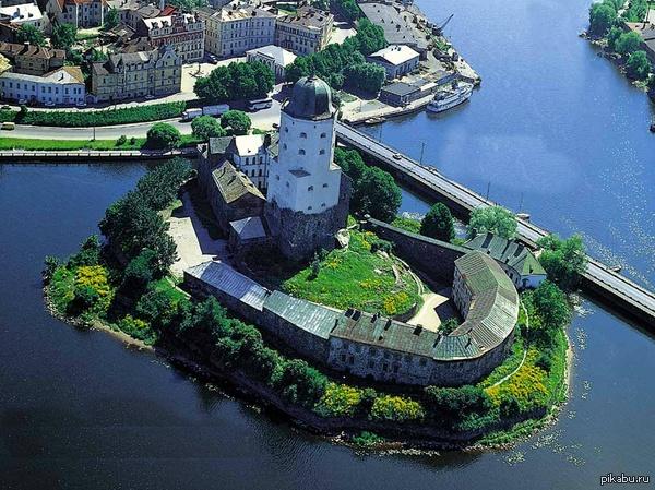 Выборгский замок теперь ты видел чуточку больше