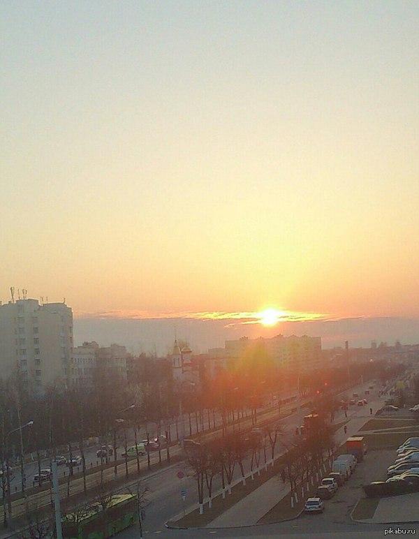 Доброе утро из Беларуси)