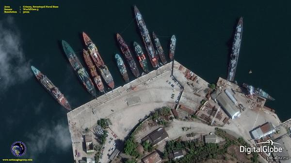 Новый спутниковый снимок Севастополя 30 см на пиксель