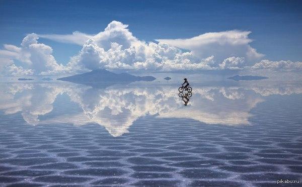 Прогулка по небу Боливия, солончак Уюни
