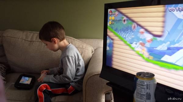 Я думаю, мой сын делает это не правильно.