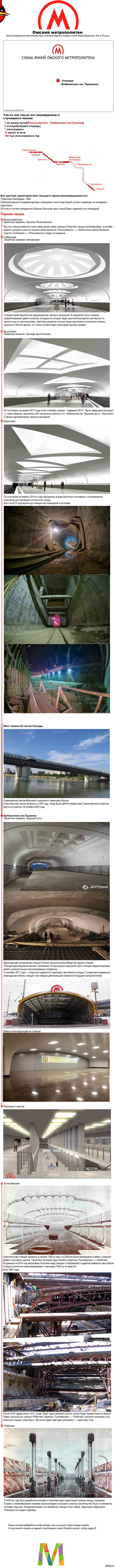 Омский метрополитен.Мечты и реальность