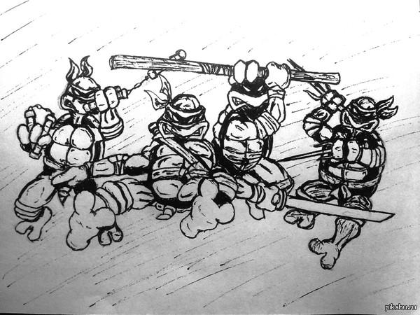 Черепахи тру черепашки ниндзя