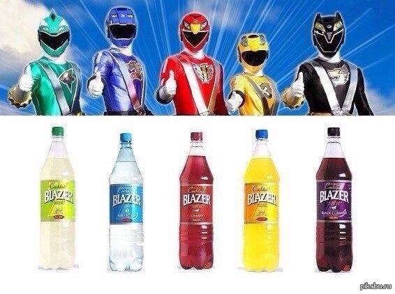 Power Blazers Выбери свой цвет, стань супергероем!
