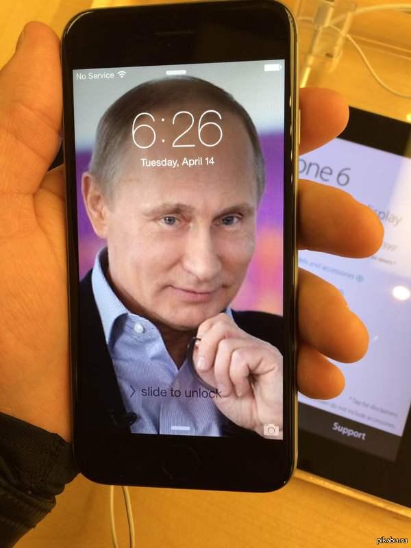 """Главный магазин Apple на манхэттене. По мотивам поста  <a href=""""http://pikabu.ru/story/_3260387"""">http://pikabu.ru/story/_3260387</a> Был в том районе по работе и надо было мне убить пол часа времени..  пошел развлекаться. внутри еще фотка и пруф."""