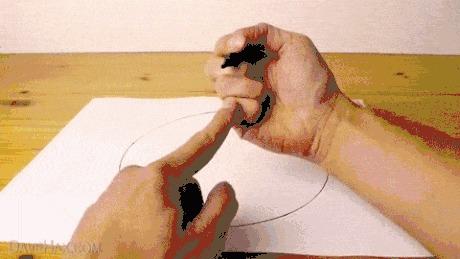 Ещё один способ нарисовать круг