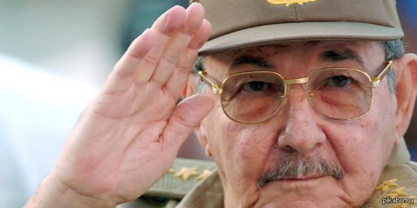 """Вот это ход!  Молодец, Рауль! Рауль Кастро едет в Москву. Уже точно: только что услышал по """"Вести24""""  Ещё раньше: http://www.ntv.ru/novosti/1396337"""