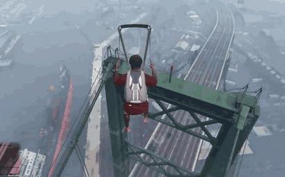 Убедитесь, хватит ли вам места для посадки с парашютом)