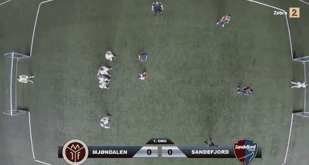 Игра в футбол с высоты птичьего полета В очках виртуальной реальности (видос в комментах)