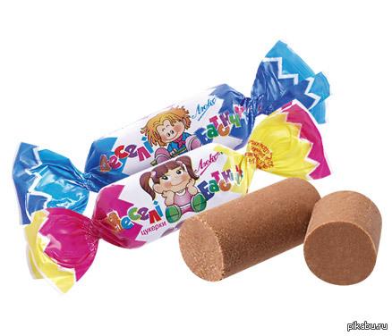 Признайся, ты то же крутил катяхи? Кажется эти конфеты я по другому и не ел. Какой ерундой только не занимаешься в детстве)