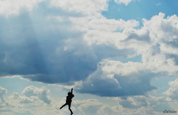 Прогулка по небу Фотографировали на Nikon D3100.