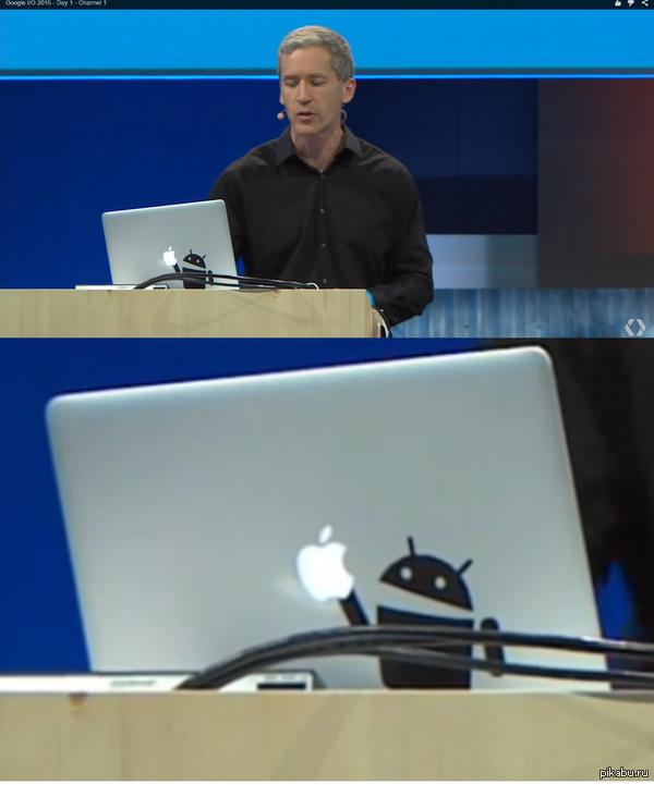 Google такой Google... На конференции Google I/O 2015