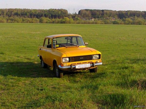 Моя первая машина! Влюбилась в него с первого взгляда)