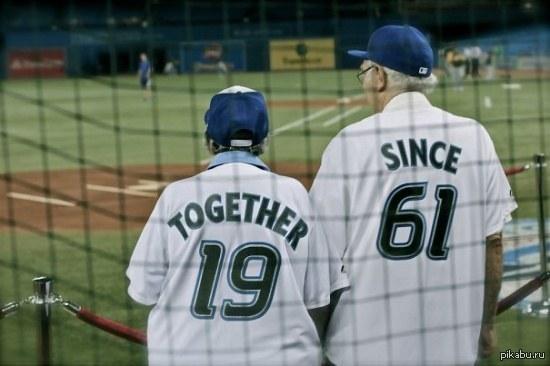 пожилая пара :)