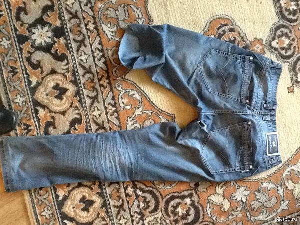 Оставил джинсы в комнате у родителей, чтоб мама подшила дыру на жопе Вышло недопонимание