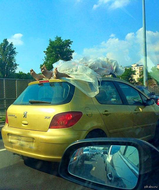 Meanwhile in Hungary На одной из венгерских трасс