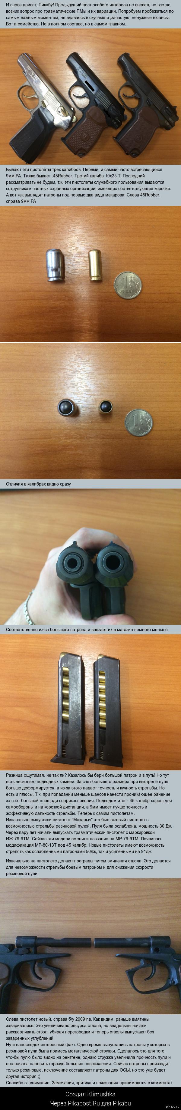 Травматические пистолеты Макарова