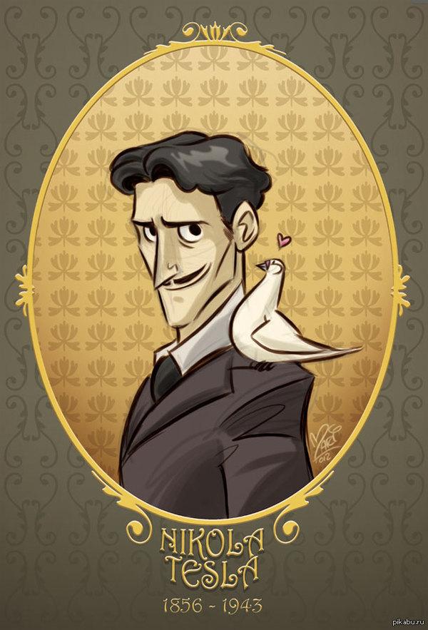 """С Днем Рождения Никола! 10 июля 1856 г. (159 лет назад) родился гениальный физик, инженер, изобретатель в области электротехники и радиотехники Никола Тесла - """"отец"""" переменного тока"""