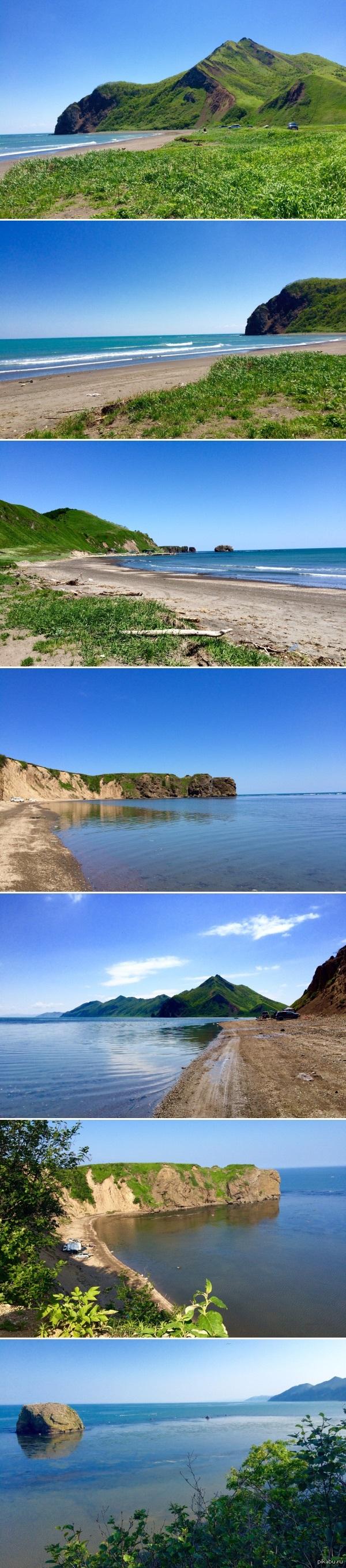 Остров Сахалин, Бухтая Тихая (Макаровский район) Около 130 км от Южно-Сахалинска. Фотал на 5s.