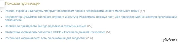 """Поразительное сходство Похожие статьи на статью http://geektimes.ru/post/259646/  p.s. Скриншот сделал сам, так что ставлю тег """"Мое"""" :)"""