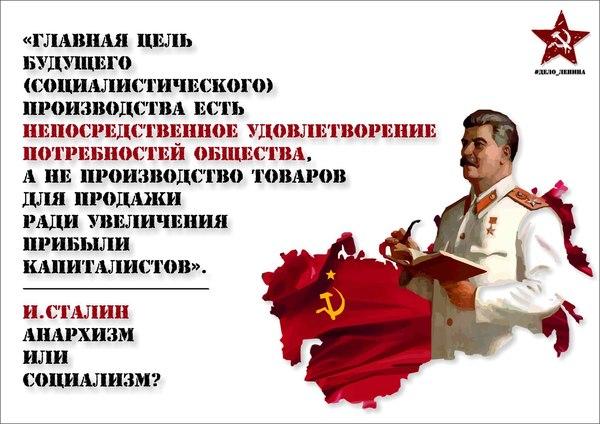 О целях социализма
