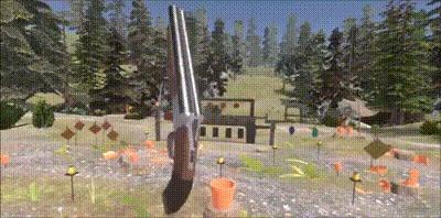 Как быстро заряжать двустволку в виртуальной реальности...
