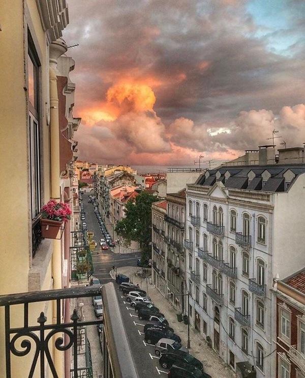 Закат в Лиссабоне. фотография, пейзаж, страны, Португалия, Лиссабон, закат